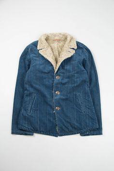 unleashprattkale: Kapital Indigo Corduroy Wabash Django P coat