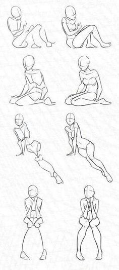 Woman Stock Practice 5 - Kinda Sitting by Azizla on DeviantArt how to draw Drawing Poses, Manga Drawing, Drawing Tips, Figure Drawing, Drawing Reference, Drawing Sketches, Painting & Drawing, Art Drawings, Sketching