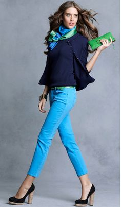 Teal jeans!!!! I need this outfit so bad!