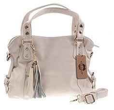KISS GOLD Women's Premium Leather Top Handle Bag Handbag CrossBody Bag (White) KISS GOLD http://www.amazon.co.uk/dp/B00M8T1CS0/ref=cm_sw_r_pi_dp_QlqTvb1FPCTT3