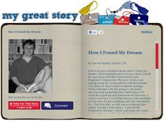 Check out the February 2013 My Great Story of the Month Contest winner How I Found My Dream, by Steven Sauter, Canton, NY. Share your story at ndss.org/stories!
