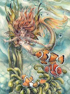 Pictures by Jody Bergsma | mermaid dream silverline fairies by featured artist jody bergsma is ...