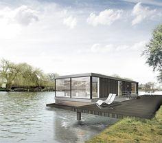 Woonboot verbouwing in de Vecht door architect Bob Ronday