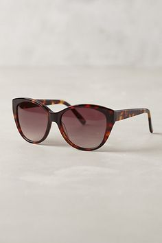 helene tortie sunglasses / anthropologie
