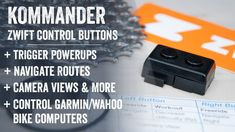 Kommander Review: Zwift Handlebar Control Buttons - YouTube Indoor Bike Trainer, Indoor Cycling Bike, Cards Against Humanity, Buttons, Youtube, Youtubers, Youtube Movies, Plugs