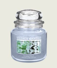 Birch bark, amber, musk   http://www.villagecandle.com/products/search.aspx?Keywords=new