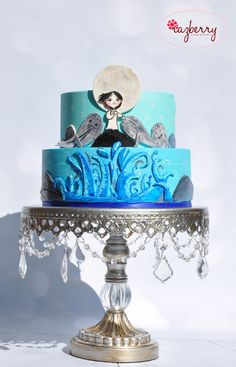 """""""Song of the Sea"""" cake."""