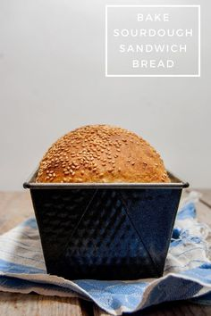 Sandwich bread doesn't have to be boring. In this sourdough sandwich bread recipe with whole wheat and spelt you will find lots of flavors. Sourdough Sandwich Bread Recipe, Sandwich Bread Recipes, Sourdough Bread, Whole Wheat Sourdough, Pan Bread, Recipe Notes, All You Need Is, Sandwiches, Tasty
