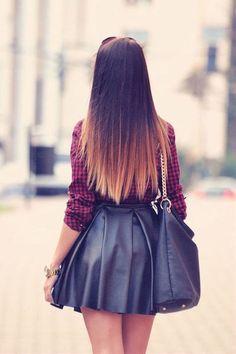 Brown Ombré Hair