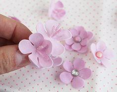 "Blog Craft Passion: Video tutorial ""Foam flowers"" by Anna Solnyshkina"
