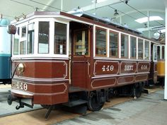 Electro-steampunk tram?