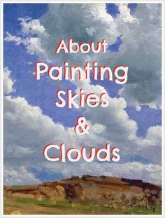 to Paint Skies and Clouds 10 great tips about painting skies and sunsets. Awesome for beginners to learn how to paint clouds and great tips about painting skies and sunsets. Awesome for beginners to learn how to paint clouds and skies. Painting & Drawing, Acrylic Painting Lessons, Acrylic Painting Techniques, Art Techniques, Painting Clouds, How To Paint Clouds, Drawing Tips, Acrylic Sky Painting, Drawing Sky