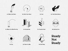 Ready Not Ready by Stephen Rockwood #Design Popular #Dribbble #shots
