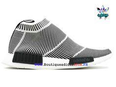 timeless design e304d 84efb Adidas Nmd Sock PK CS1 - La culture Chaussures Adidas FemmeHomme GrisBlanc