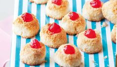 Coconut macaroons, a tea-time favourite! Coconut Macaroons, Egg Whisk, Recipe Search, Coconuts, Tray Bakes, Baking Recipes, Tea Time, South Africa, Delicious Desserts
