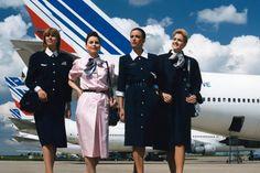 Air France air stewardesses