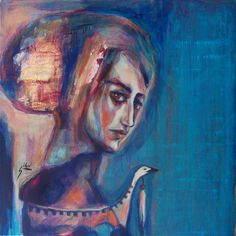 "Saatchi Online Artist: Suhair Sibai; Acrylic, 2013, Painting ""Traveler!"""