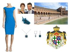 """Alvaro's investiture as the 6th Duke of Seville - June 2014"" by princessannelouise ❤ liked on Polyvore featuring La Petite Robe di Chiara Boni, Blue Nile, women's clothing, women's fashion, women, female, woman, misses and juniors"