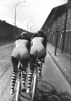 Helmut Newton #earnyourstripes