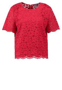 DKNY Blouse rouge red Meer info via http://kledingwinkel.nl/product/dkny-blouse-rouge-red/