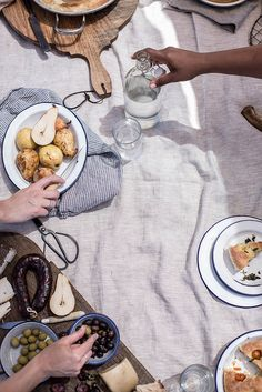 Local Milk x Little Upside Down Cake Portugal Workshop, Beach Picnic by Beth Kirby | {local milk}, via Flickr