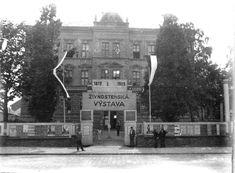 Živnostenská výstava od 5. 7. 1929 - později 4.ZŠ Kolín Retro, Movies, Movie Posters, Art, Historia, Art Background, Films, Film Poster, Kunst