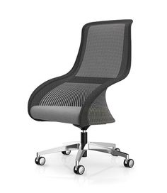 Oasis office chair with headrest