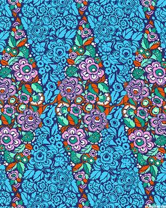 Amy Butler - Hapi - Trapeze - Quilt Fabrics from www.eQuilter.com
