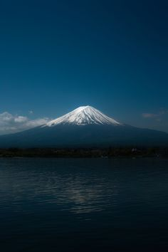 Mount Fuji by B K  And, via 500px