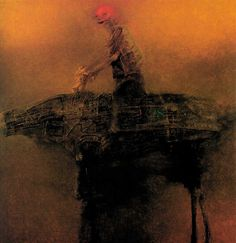 -Online Browsing-: Zdzisław Beksiński Polish painter, photographer, and sculptor (part 2)