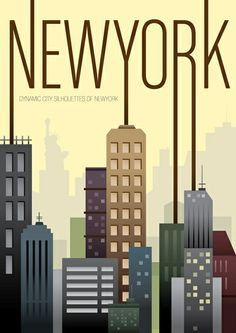 The Travel Tester vintage travel poster collection. It's time to get nostalgic with this week's retro destination: Vintage Travel Posters New York Pub Vintage, Photo Vintage, Vintage Style, Retro Poster, Vintage Travel Posters, City Poster, New York Poster, Voyage New York, Charles Rennie Mackintosh