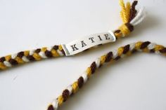 i will make tags like this for my kids.