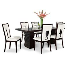 Dining Room Furniture   Paragon Madera II 7 Pc. Dining Room