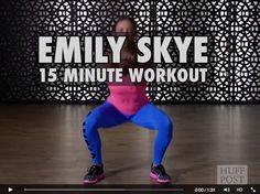 Emily Skye's 15 Minute Workout - HuffPost Australia