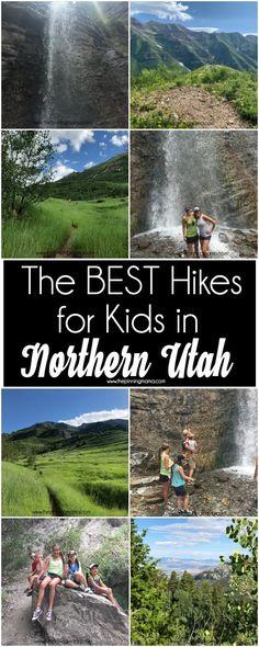 Kid Friendly Hikes in Northern Utah The Pinning Mama Utah Camping, Colorado Hiking, Colorado Springs, Utah Vacation, Vacation Spots, Ireland Vacation, Ireland Travel, Places To Travel, Places To Go