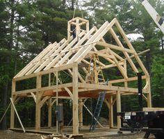 pre-cut timber frame
