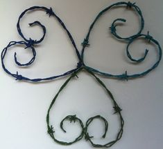 Heart Wire Hear Heart Design by windowzofopportunity on Etsy
