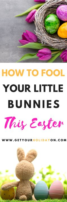 Easter Bunny April Fools   What a fantastic idea to trick your kids with a fun joke surprise from a silly rabbit. Read this to find out how to prank Easter Eggs and more! #diymom #momlife #easterbunny #easter