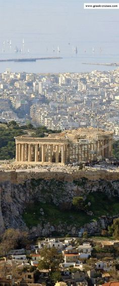 Acropolis, Athens, Greece: a vestige of the past reclining amount its posterity.