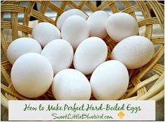 How to Make Perfect Hard-Boiled Eggs - Egg salad recipes included! {Classic Egg Salad & Avocado Egg Salad with Cilantro Lemon-Lime Mayo}| SweetLittleBluebird.com