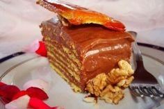 Step by step recipe for Dobos Torte/Reteta de tort Dobos in imagini pas cu pas :) Brownie Cake, Brownies, Restaurant Dishes, Romanian Food, Sweet Desserts, Other Recipes, Copycat Recipes, Cookie Recipes, Caramel
