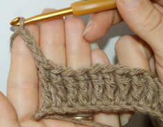 Crochet Meaning : Quadruple Treble Crochet Stitch (quadtr) Crochet Basics Tutorial 13 ...