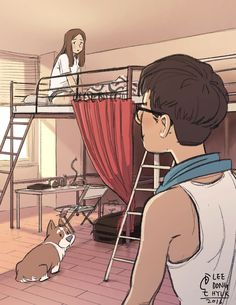 First Impression / 2016 When I got first impression of my girlfriend in sharing house