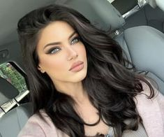 Uploaded by Luxury Girl. Find images and videos about girl, fashion and sexy on We Heart It - the app to get lost in what you love. Most Beautiful Faces, Beautiful Girl Image, Beautiful Eyes, Brunette Beauty, Brunette Hair, Hair Beauty, Blue Hair, Dark Hair, Ivana Santacruz