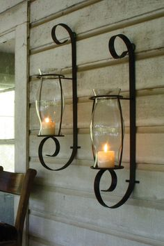 12 Delightful Wrought Iron Candle Holder For House Walls - Top Inspirations