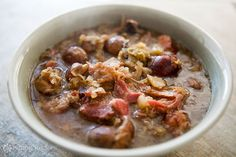** needs to be adapted for crockpot **  Polish Hunter's Stew ~ A hearty Polish stew made with several kinds of meat - typically pork - cabbage, sauerkraut and lots of mushrooms, both wild and cultivated ~ SimplyRecipes.com