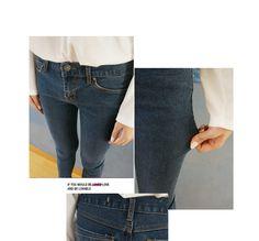 Skinny Jeans VANILLA SECOND | YESSTYLE