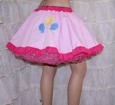 MLP Pinkie Pie Applique Circle Skirt