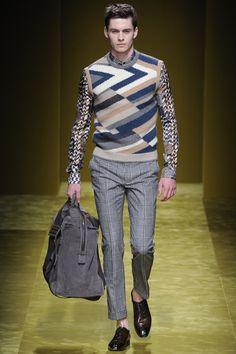 See the complete Salvatore Ferragamo Fall 2016 Menswear collection.