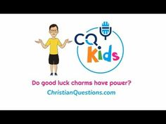 Do good luck charms have power? CQ Kids Bible Videos For Kids, Good Luck, Family Guy, Youtube, Fictional Characters, Best Of Luck, Fantasy Characters, Youtubers, Youtube Movies